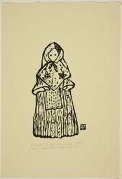 Hiratsuka Un'ichi: Corn Husk Doll America - Art Institute of Chicago