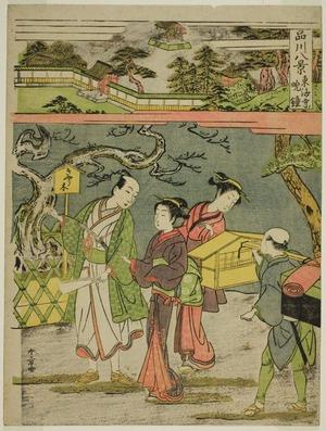 Katsukawa Shunsho: Tokaiji no Bansho, from the series