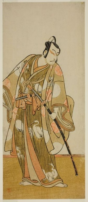 Katsukawa Shunsho: The Actor Ichikawa Danjuro V in an Unidentified Role - Art Institute of Chicago