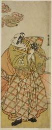 勝川春章: The Actor Nakamura Nakazo I as Watanabe no Tsuna in the Play Shitenno Tonoi no Kisewata, Performed at the Nakamura Theater in the Eleventh Month, 1781 - シカゴ美術館