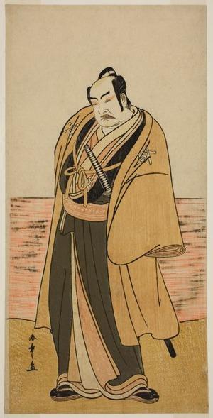 Katsukawa Shunsho: The Actor Nakamura Sukegoro II as Kaminari Shokuro in the Play Hatsumombi Kuruwa Soga, Performed at the Nakamura Theater in the Second Month, 1780 - Art Institute of Chicago