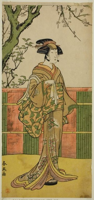 Katsukawa Shun'ei: The Actor Sawamura Tamagashira in an Unidentified Role - Art Institute of Chicago