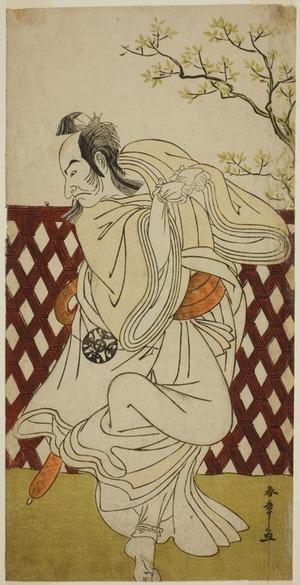 Katsukawa Shunsho: The Actor Nakamura Nakazo I as Sakon-gitsune in the Play Hana-zumo Genji Hiiki, Performed at the Nakamura Theater in the Eleventh Month, 1775 - Art Institute of Chicago