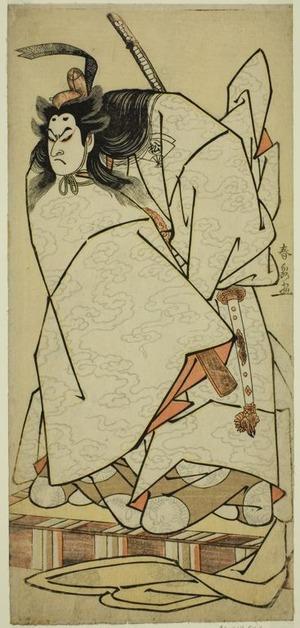 Katsukawa Shunsen: The Actor Onoe Matsusuke I as Ashikaga Takauji in the Play Kumoi no Hana Yoshino no Wakamusha, Performed at the Nakamura Theater in the Eleventh Month, 1786 - Art Institute of Chicago
