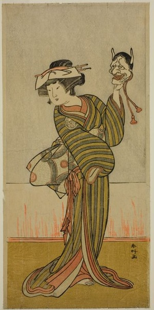 Katsukawa Shunko: The Actor Yamashita Kinsaku II in an Unidentified Role - Art Institute of Chicago