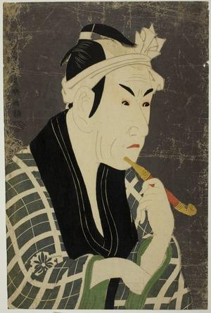 東洲斎写楽: The Actor Matsumoto Kôshirô IV as Gorobei - シカゴ美術館