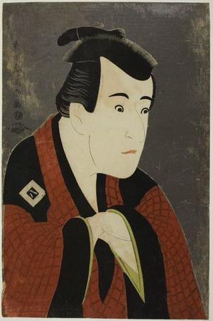 Toshusai Sharaku: The Actor Ichikawa Yaozô III as Tanabe Bunzô - Art Institute of Chicago