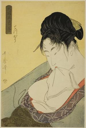 Kitagawa Utamaro: Hokkoku goshiki zumi : Teppo - Art Institute of Chicago