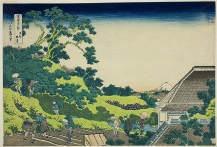 葛飾北斎: Surugadai in Edo (Toto surugadai), from the series Thirty-six Views of Mt. Fuji (Fugaku sanjurokkei) - シカゴ美術館