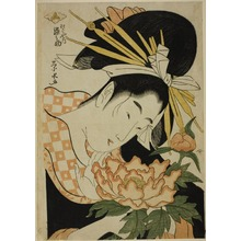Ichirakutei Eisui: Somenosuke of the Matsubaya - Art Institute of Chicago