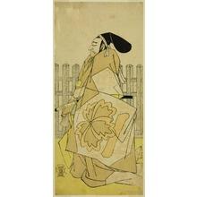 Katsukawa Shunsho: The Actor Nakayama Kojuro VI as Ko no Moronao in the Play Kanadehon Chushingura, Performed at the Nakamura Theater in the Fifth Month, 1786 - Art Institute of Chicago