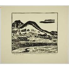 Hiratsuka Un'ichi: View of Nobuto in Chiba Prefecture - Art Institute of Chicago