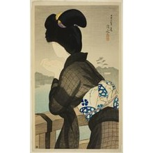 Ito Shinsui: Enjoying the Cool, from the series
