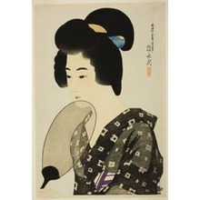 Ito Shinsui: Hair Style of a Married Woman - Art Institute of Chicago