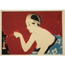 Ito Shinsui: The eyebrow pencil - Art Institute of Chicago