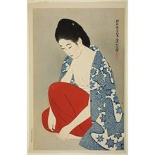 Ito Shinsui: Nails, from the Second Series of Modern Beauties - Art Institute of Chicago