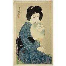 Ito Shinsui: Cotton Kimono, from the series