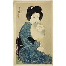 伊東深水: Cotton Kimono, from the series
