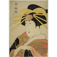 Utagawa Kunimasa: Portrait of an Actor in Female Dress - Art Institute of Chicago