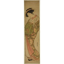 Katsukawa Shunsho: A Courtesan of the Matsubaya House of Pleasure - Art Institute of Chicago
