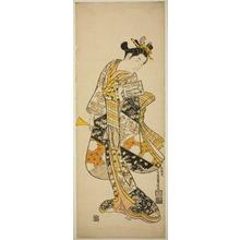 Ishikawa Toyonobu: Standing Geisha - Art Institute of Chicago