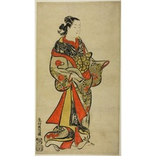 Okumura Masanobu: Standing Courtesan - Art Institute of Chicago
