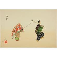 Tsukioka Gyokusei: Tsuribari, from the series