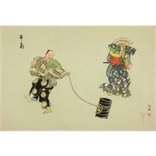 Tsukioka Gyokusei: Chidori, from the series