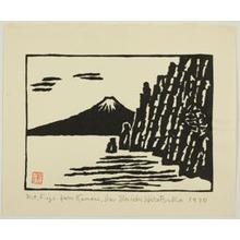 Hiratsuka Un'ichi: Mount Fuji from Kumoni Izu - Art Institute of Chicago