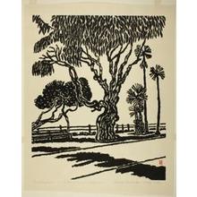 Hiratsuka Un'ichi: Eucalyptus, Santa Monica, California - Art Institute of Chicago