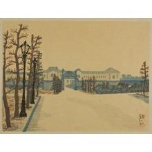 Hiratsuka Un'ichi: Akasaka Palace, from the series