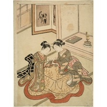 Suzuki Harunobu: Cat's Cradle - Art Institute of Chicago