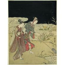 Suzuki Harunobu: Catching Fireflies - Art Institute of Chicago