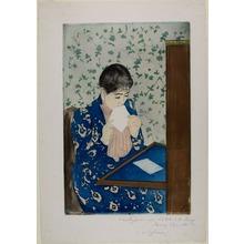 Mary Cassatt: The Letter - シカゴ美術館