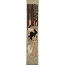 Suzuki Harunobu: The White Dog - Art Institute of Chicago