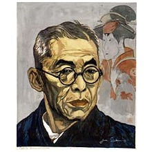 Sekino Junichiro: Portrait of Nakamura Kichiemon, Kabuki Actor - Art Institute of Chicago