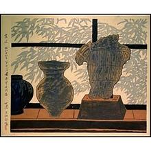 Shimozawa Kihachirô: By the Window - シカゴ美術館