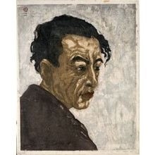 Onchi Koshiro: Portrait of Sakutaro Hagiwara - Art Institute of Chicago