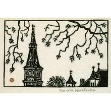 Hiratsuka Un'ichi: Church Steeples - Art Institute of Chicago