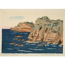 Hiratsuka Un'ichi: Ocean View of Ohara - Art Institute of Chicago