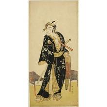Katsukawa Shunko: The Actor Ichikawa Danjuro V as Sukeroku in the Joruri