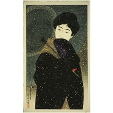 Ito Shinsui: Snowy Night, from the series