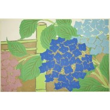Kamisaka Sekka: Hydrangeas, from the series