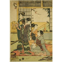 Kitagawa Utamaro: Drums and Shamisen - Art Institute of Chicago
