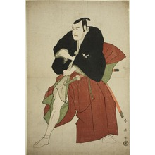 勝川春英: The Actor Matsumoto Koshiro IV as Kakogawa Honzo in the Play Kanadehon Chushingura, Performed at the Kawarazaki Theater in the Fifth Month, 1795 - シカゴ美術館