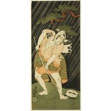一筆斉文調: The Actor Sakata Sajuro I as a Samurai's Manservant (Yakko) - シカゴ美術館