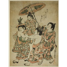 Okumura Masanobu: Boys Masquerading as Chinese - Art Institute of Chicago