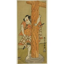 Katsukawa Shunsho: The Actor Otani Hiroji III in an Unidentified Role - Art Institute of Chicago