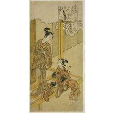 鈴木春信: An Elegant Parody of the Seven Komachis (Fûryû yatsushi nana Komachi) : Kayoi - シカゴ美術館