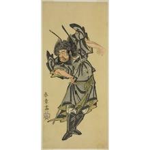 勝川春章: The Actor Ichikawa Danzo III as Shoki the Demon Queller in the Play Date Moyo Kumo ni Inazuma, Performed at the Morita Theater in the Tenth Month, 1768 - シカゴ美術館